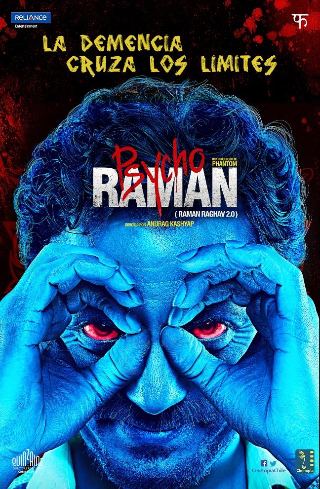 Psycho Raman - Afiche
